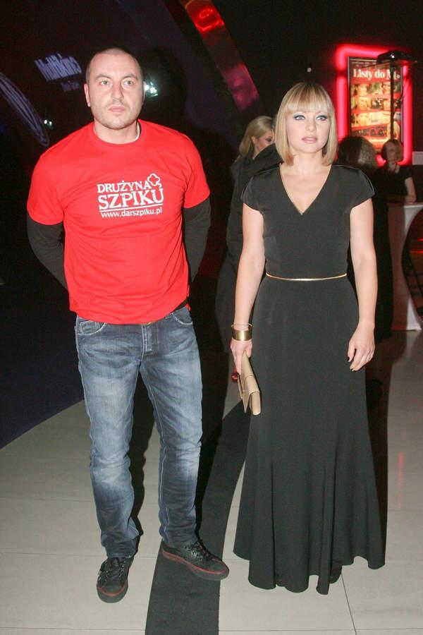 Katarzyna Bujakiewicz i Piotr Maruszewski, 9.11.2011, Warszawa Złote Tarasy
