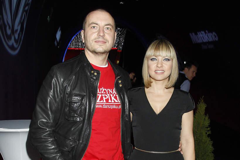"""Katarzyna Bujakiewicz, Piotr Maruszewski, premiera filmu """"Listy do M."""", 8 listopada 2011 roku"""