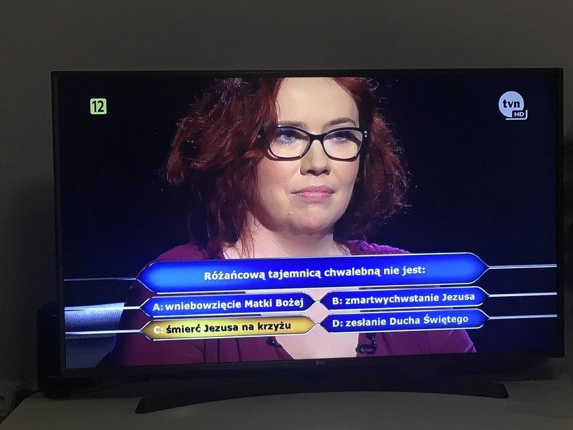 Katarzyna Kant-Wysocka wygrała miliona w Milionerach