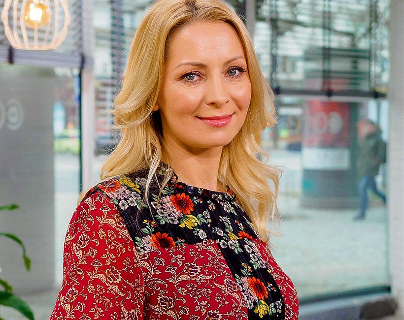 Katarzyna Olubińska, dziennikarka Dzień Dobry TVN, została uwięziona na morzu przez sztorm