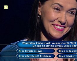 Katarzyna Romanek, córka Marii Romanek w Milionerach TVN