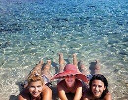 Katarzyna Skrzynecka, Katarzyna Skrzynecka na wakacjach w Grecji