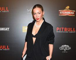 Katarzyna Warnke na premierze Pitbulla