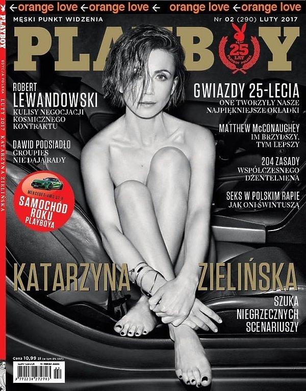 Katarzyna Zielińska, Playboy