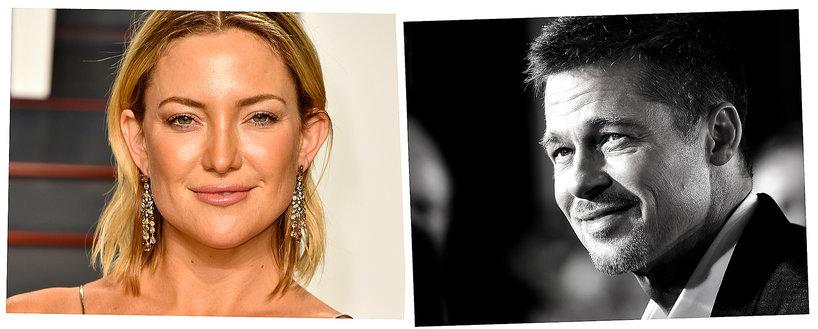 Kate Hudson, Brad Pitt