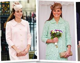 Kate Middleton zachwyca w ciąży! Podziwiamy najlepsze ciążowe stylizacje księżnej!