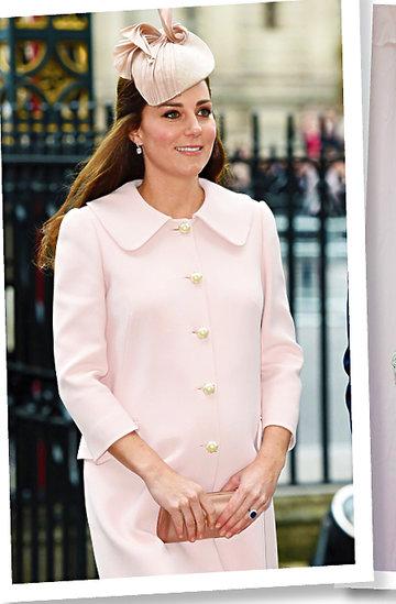Kate stylizacje w ciąży