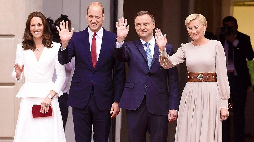 Kate, William, Duda
