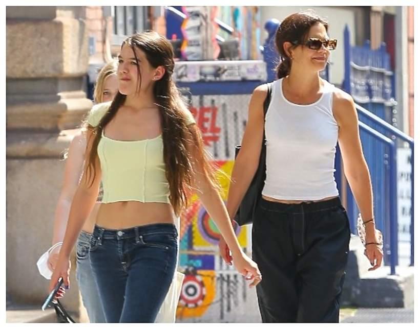 Katie Holmes i Suri Cruise, 2021 New York