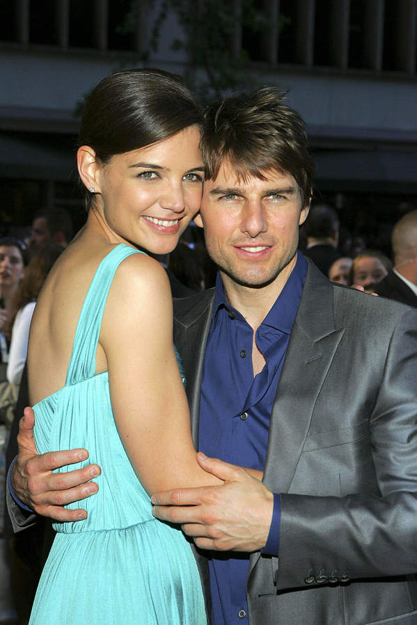 Katie Holmes i Tom Cruise, 2005 New York