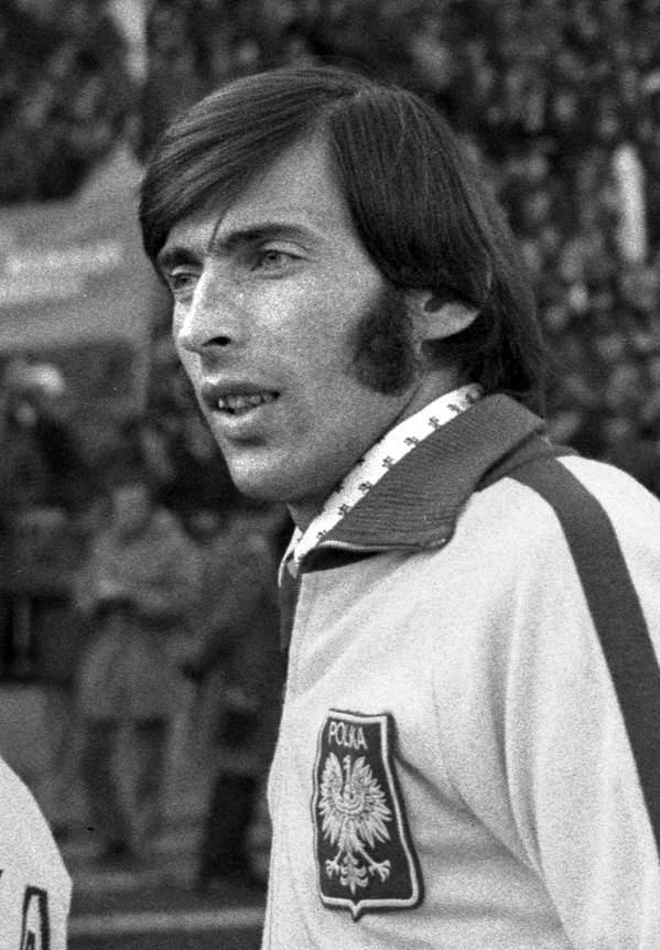 Kazimierz Deyna na stadionie Legii, 1973