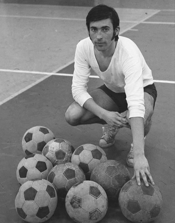 Kazimierz Deyna podczas treningu, 1973