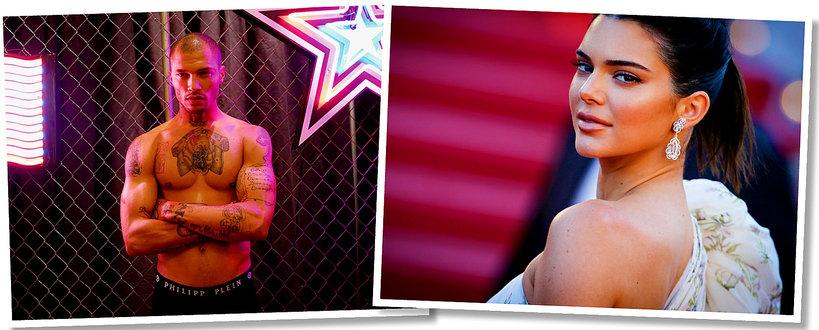 Kendall Jenner, Jeremy Meeks, romans Kendall i Jeremyego Meeksa, najprzystojniejszy więzień i Kendall
