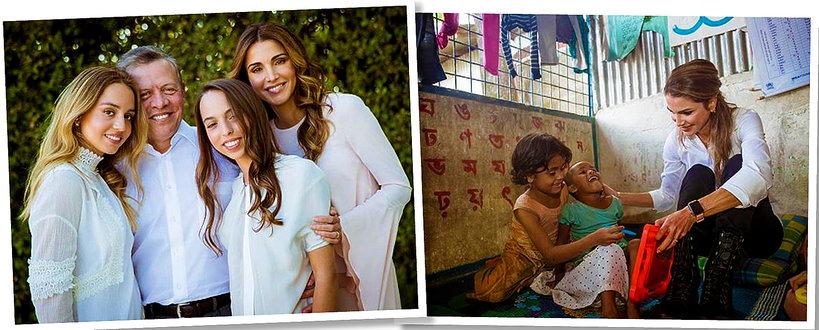 Kim jest królowa Jordanii, królowa Rania