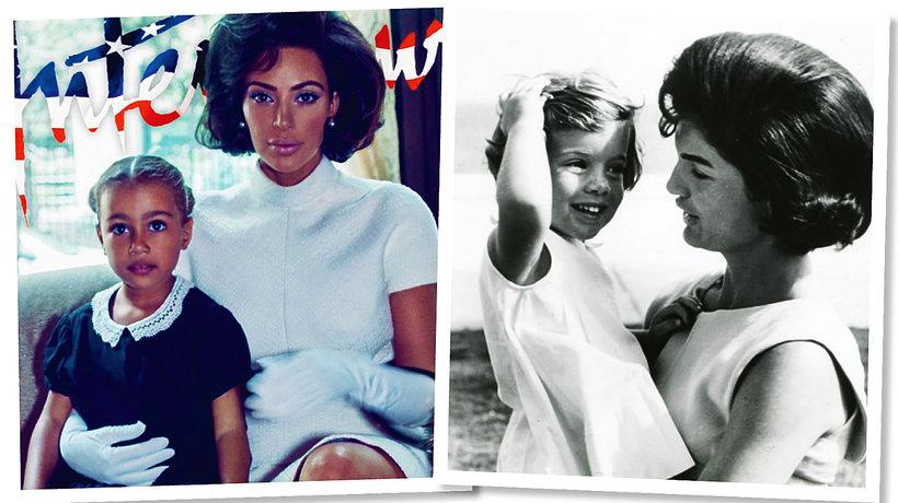 Kim Kardashian, Jackie Kennedy
