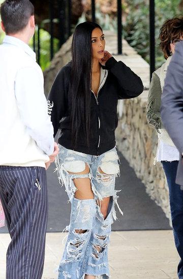 Kim Kardashian, styl, Streetwearowe inspiracje i wszechobecny luz