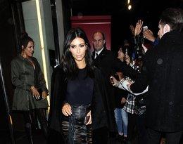 Kim Kardashian w ubraniach Magdy Butrym