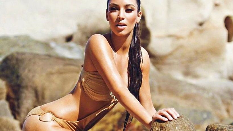 Kim Kardashian walczy z hejtem i dementuje, że ma cellulit