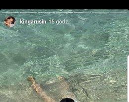 Kinga Rusin na wakacjach, gorąca sesji, Marek Kujawa