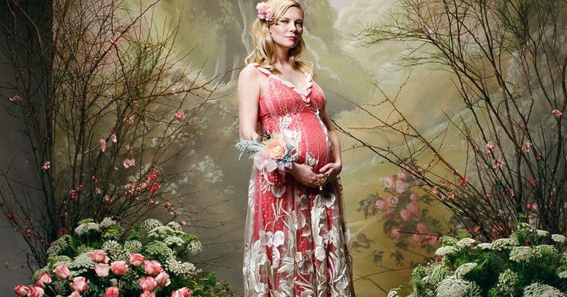 Kirsten Dunst w ciąży
