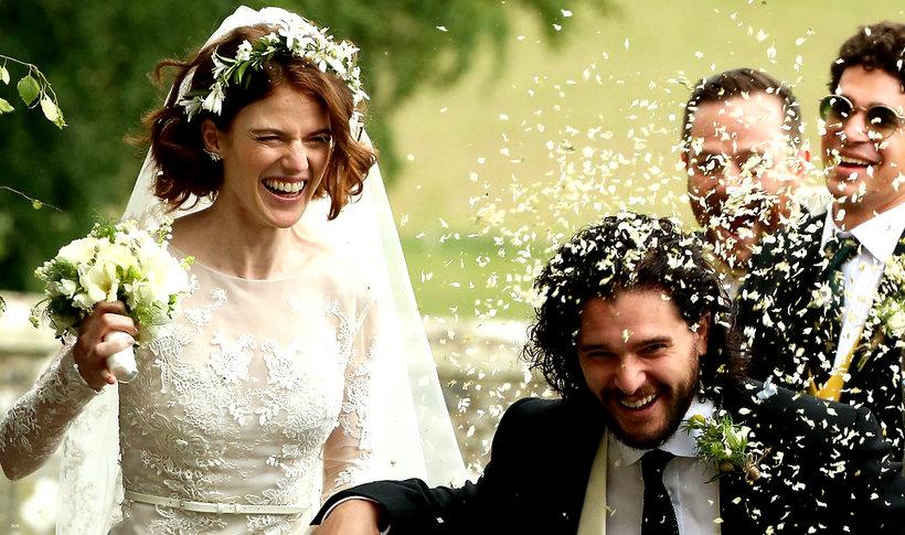 Kit Harington I Rose Leslie Wzięli ślub Jon Snow Ożenił Się Z