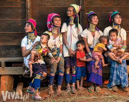 """""""Kobiety """"żyrafy"""" z Birmy"""