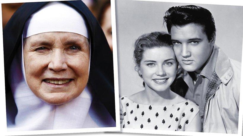 """""""Kochając siebie"""", Dolores Hart i Elvis Presley"""