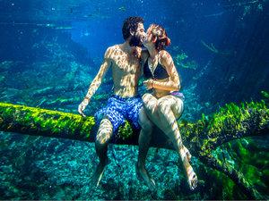 kochankowie pod wodą