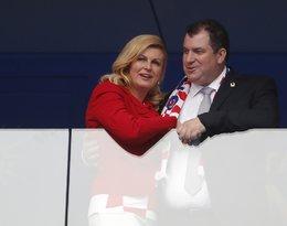 Kolinda Grabar-Kitarović z mężem