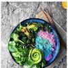 Kolorowe makarony, dania, kulnarna, fotografia kulinarna
