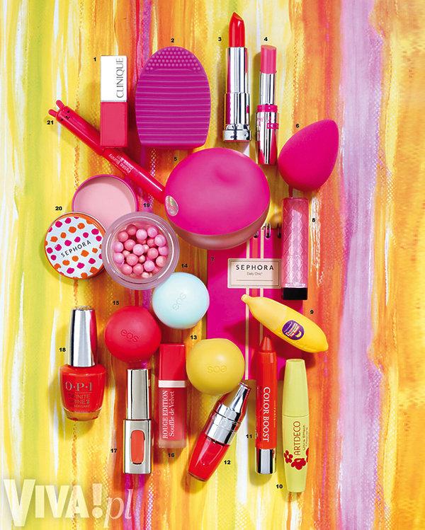 kompozycja z kosmetyków
