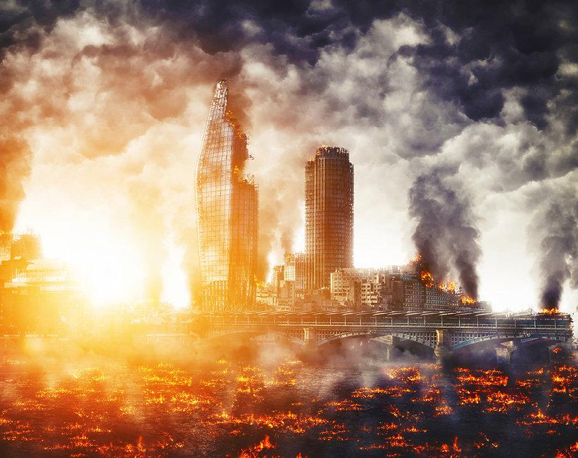 koniec świata, zagłada, cywilizacja