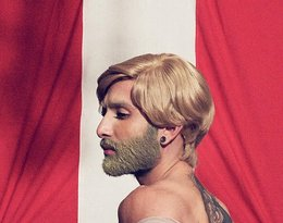 Kontrowersyjny wizerunek Conchity Wurst. Drag queen została blondynką