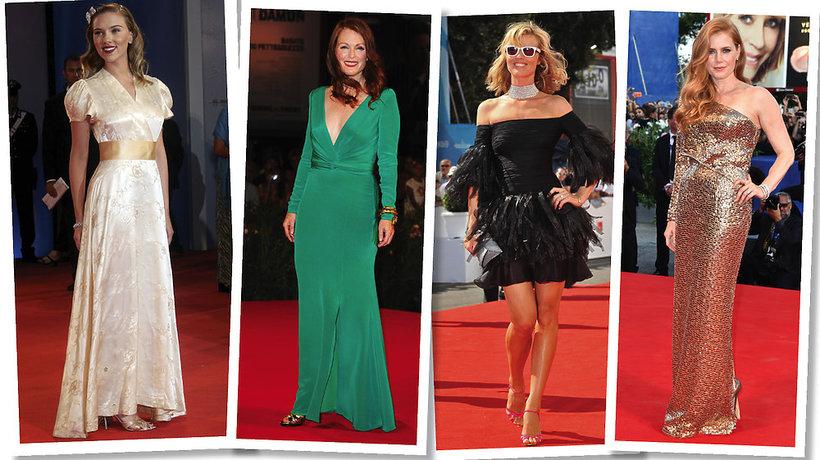 Kreacje gwiazd na Festiwalu w Wenecji
