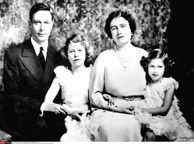 Królewskie zaręczyny: król Jerzy VI Windsor i królowa Elżbieta I matka