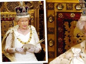 Królowa Elżbieta, koronacja Elżbiety II, korona królowej Elżbiety