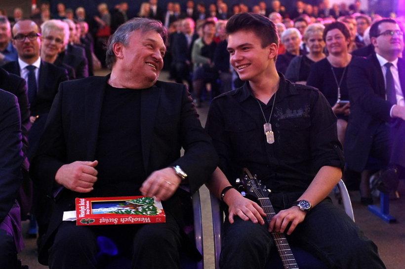 Krzysztof Cugowski z synem Krzysztofem Cugowskim Juniorem