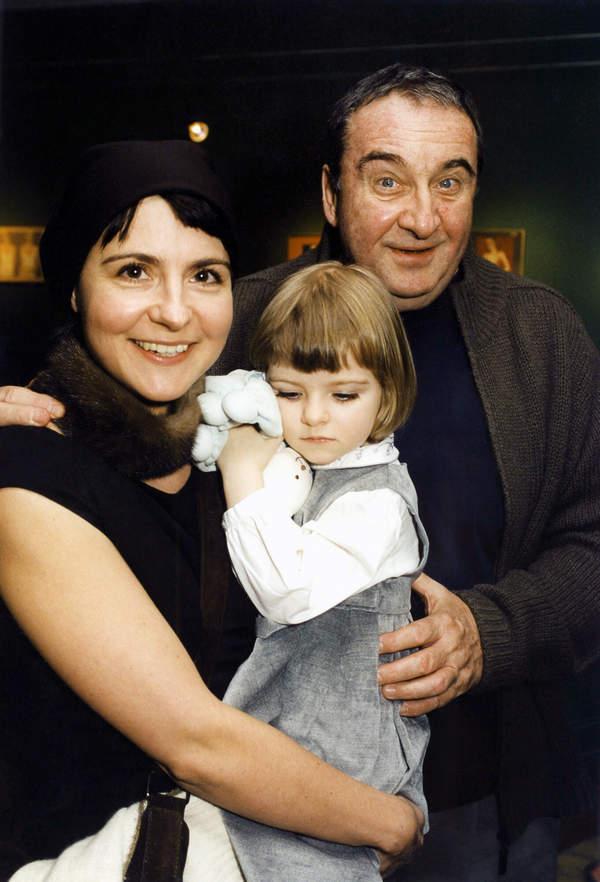 Krzysztof Kowalewski, Agnieszka Suchora, córka Gabriela Kowalewska, 04.10.2011 rok