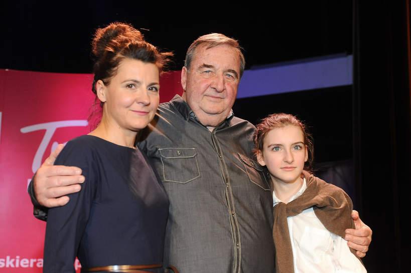 Krzysztof Kowalewski, Agnieszka Suchora, córka Gabriela Kowalewska, 29.02.2012 rok