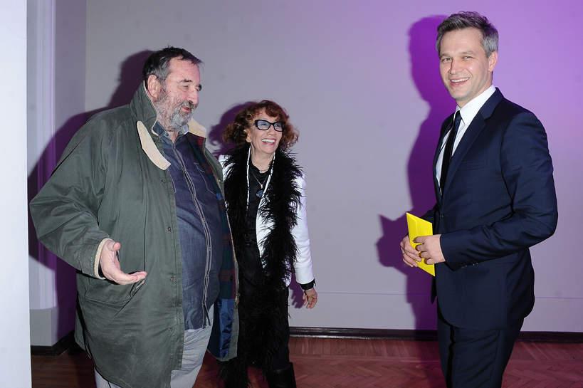 Krzysztof Kowalewski, Olga Lipińska, Michał Żebrowski, 09.11.2013 rok, Warszawa