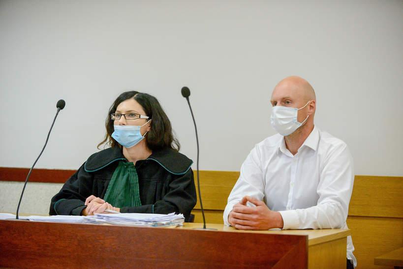 Krzysztof Krawczyk junior, rozprawa sądowa, 20.09.2021, Zgierz