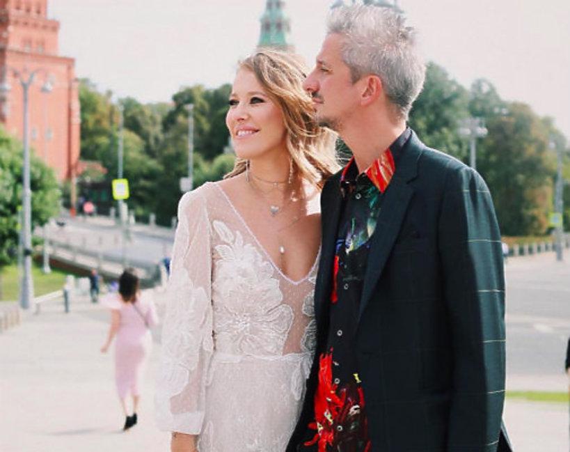 Ksenia Sobczak, Xenia Sobchak, Konstantin Bogomolov, ślub