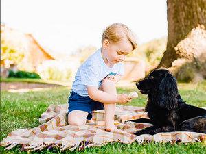 Książe George i księżniczka Charlotte