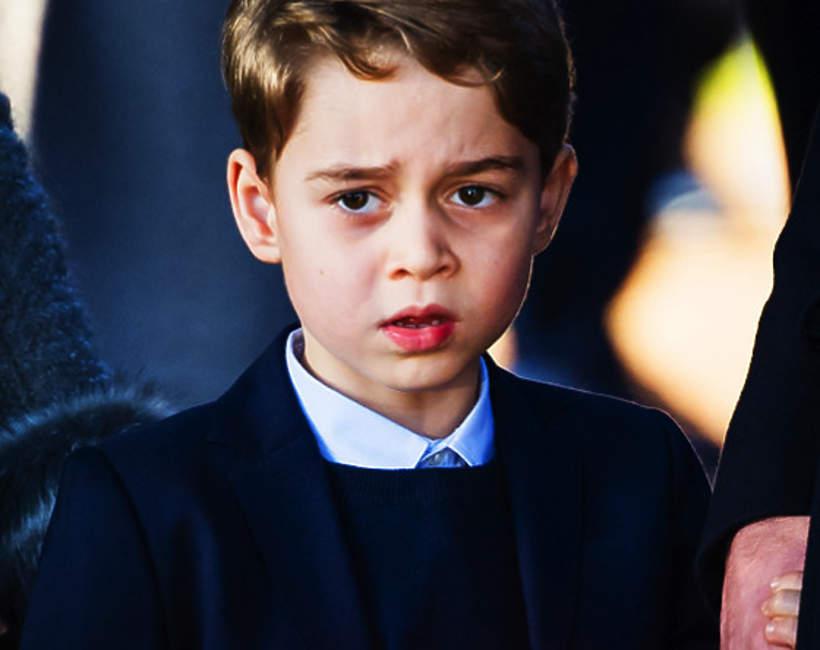 Książę George, książę Jerzy, 25.12.2019 rok, Sandringham, Wielka Brytania