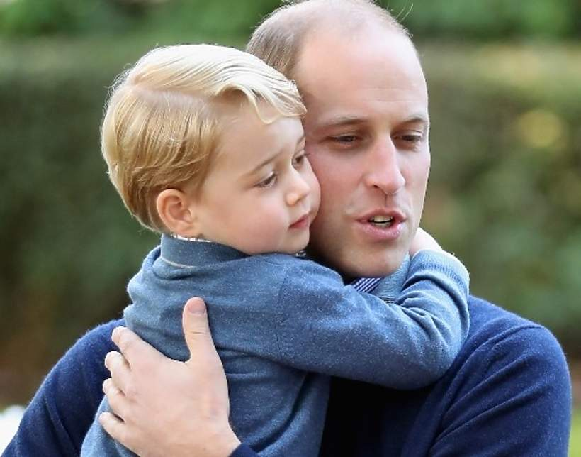 Książę George, książę William, 29.09.2016 rok, Victoria, Kanada