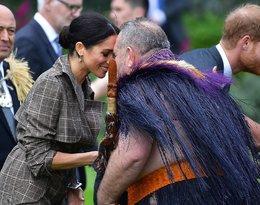 Książę Harry i księżna Meghan w Nowej Zelandii. Maorysi, wpadka pary i ciążowy brzuszek Meghan