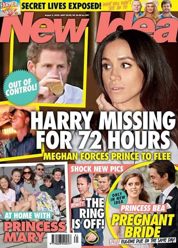 Książę Harry, księżna Meghan, New Idea, magazyn New Idea