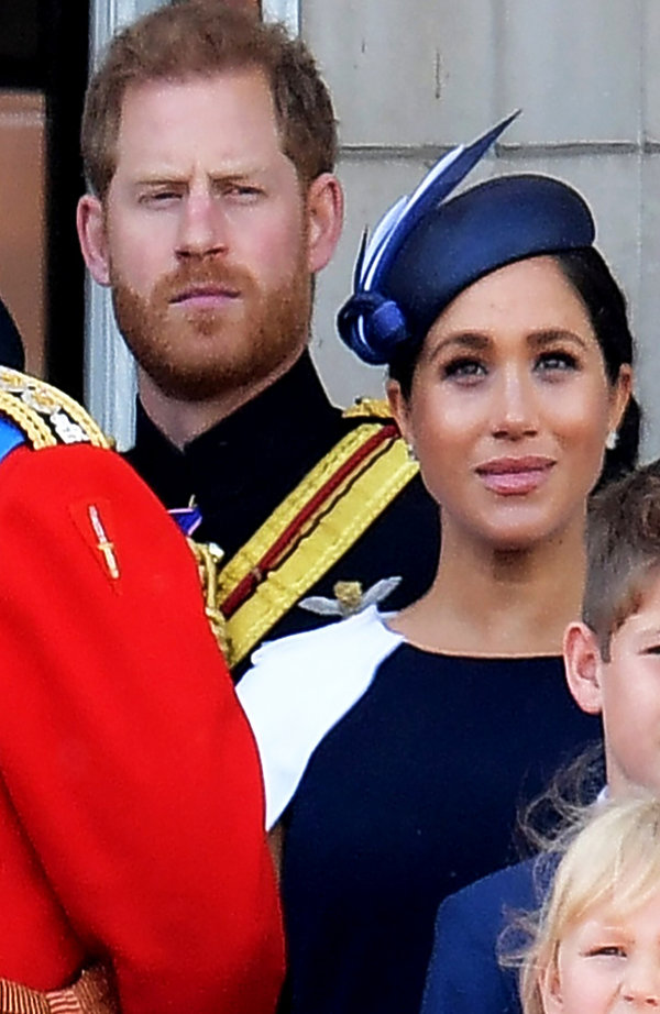 Książę Harry, księżna Meghan, urodziny królowej Elżbiety II
