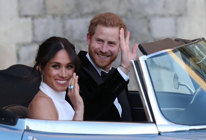 Książę Harry podarował Meghan Markle z okazji ślubu pierścionek księżnej Diany