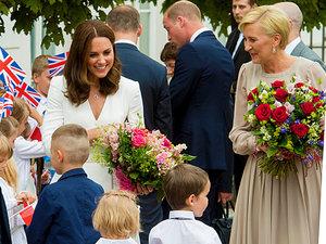 książę William i księżna Kate w Polsce, ciekawostki z wizyty, jamnik